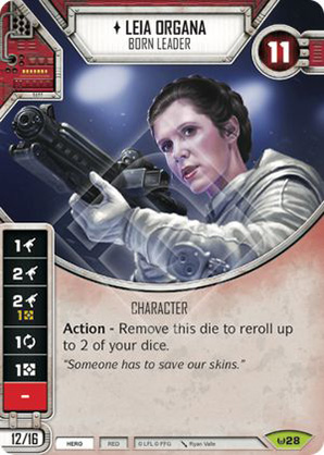 Star Wars Destiny Way of the Force Leia Organa #73