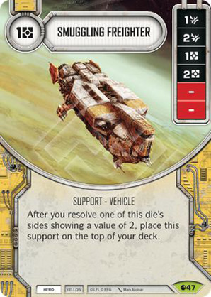 Smuggling Freighter