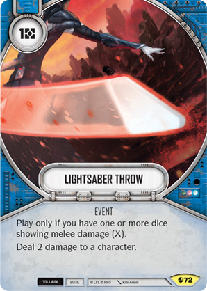 Lightsaber Throw