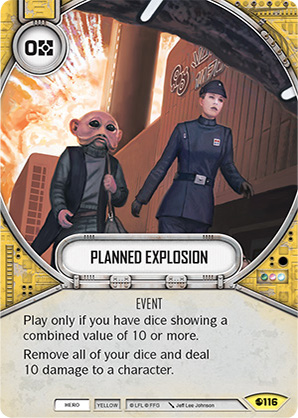 Planned Explosion