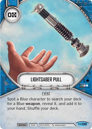Lightsaber Pull