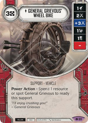 General Grievous' Wheel Bike