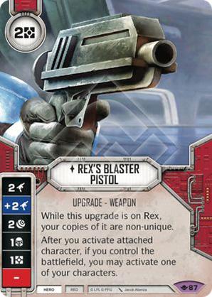 Rex's Blaster Pistol