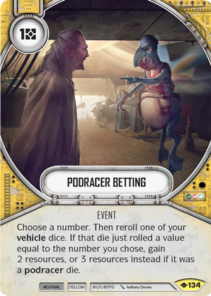 Podracer Betting