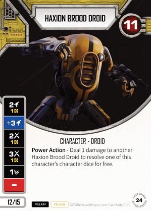 Haxion Brood Droid