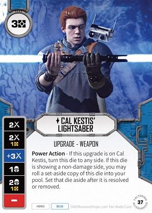 Cal Kestis' Lightsaber