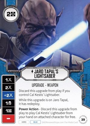 Jaro Tapal's Lightsaber