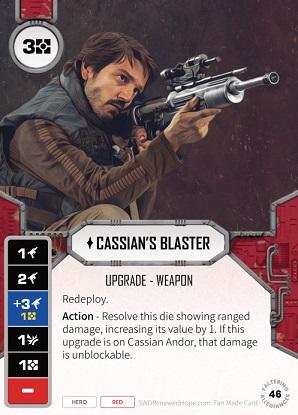 Cassian's Blaster