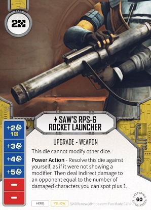 Saw's RPS-6 Rocket Launcher