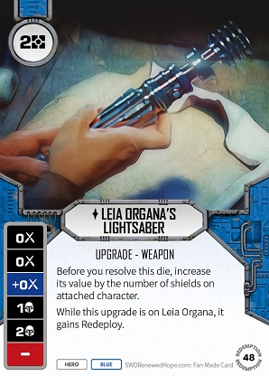 Leia Organa's Lightsaber