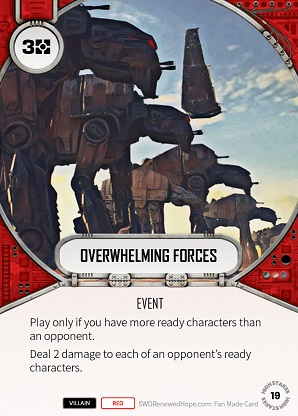 Overwhelming Forces