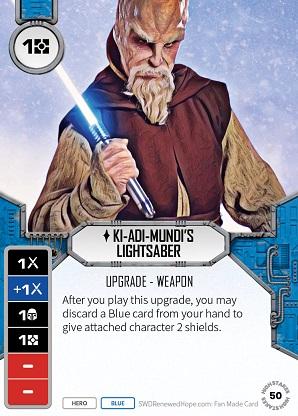 Ki-Adi-Mundi's Lightsaber