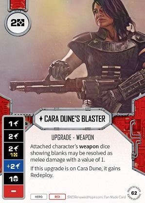 Cara Dune's Blaster