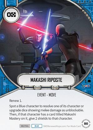Makashi Riposte