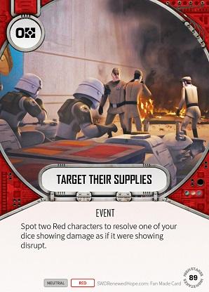 Target Their Supplies