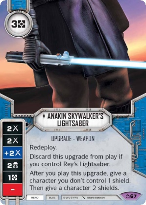 Anakin Skywalker's Lightsaber