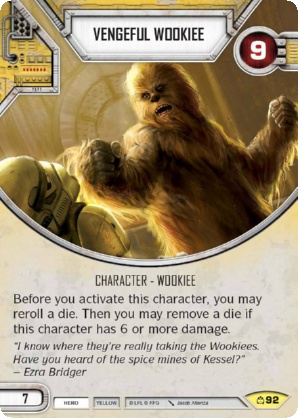 Vengeful Wookiee