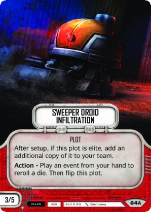 Sweeper Droid Infiltration
