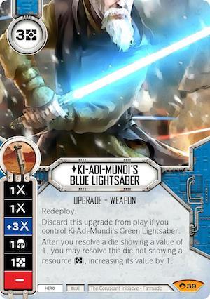 Ki-Adi-Mundi's Blue Lightsaber