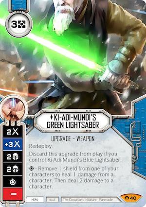 Ki-Adi-Mundi's Green Lightsaber