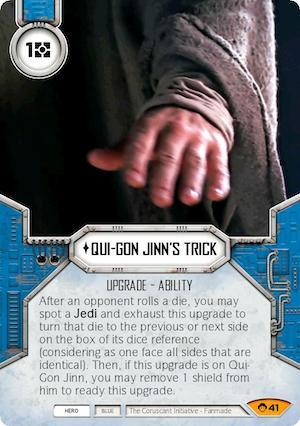 Qui-Gon Jinn's Trick
