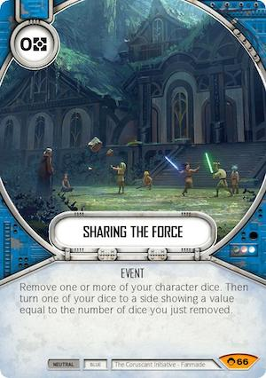 Sharing the Force
