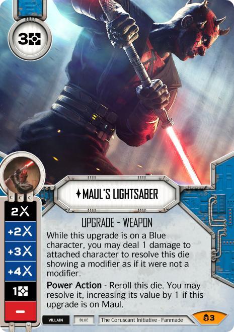 Maul's Lightsaber