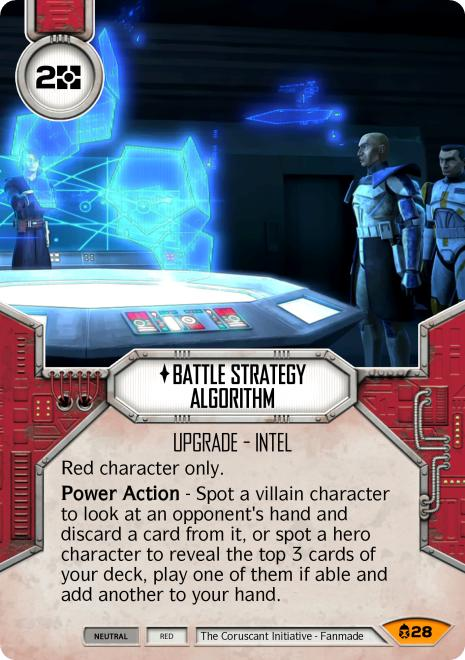 Battle Strategy Algorithm