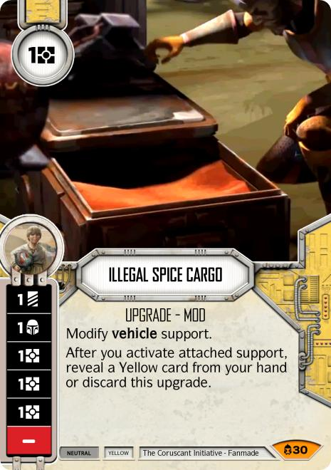 Illegal Spice Cargo