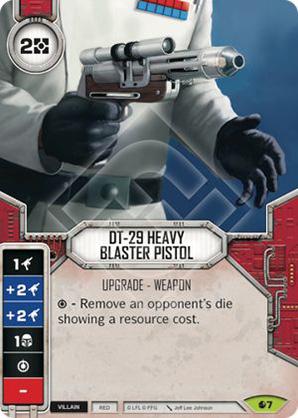 DT-29 Heavy Blaster Pistol