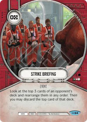 Strike Briefing