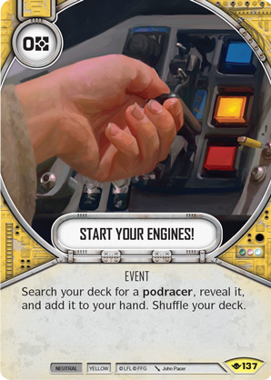 Start Your Engines!
