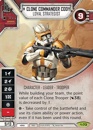 Clone Commander Cody