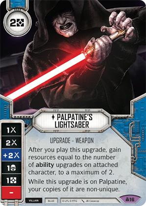 Palpatine's Lightsaber