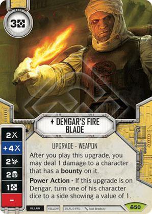 Dengar's Fire Blade