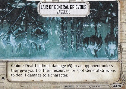 Lair of General Grievous