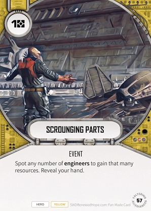 Scrounging Parts